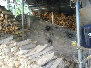 穴窯焼成を見学に行きました_e0085133_2195337.jpg