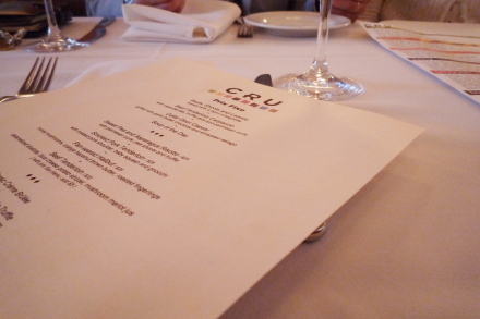 [2009 Best Small Plates]に選ばれたレストラン「CRU」_d0129786_14533219.jpg