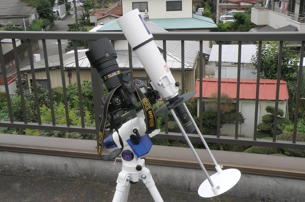 田んぼにアマサギ/日食観測の準備完了_b0024798_551479.jpg