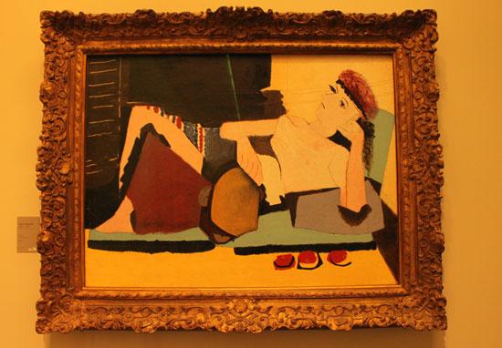 オランジュリー美術館2 パリをめぐる 11_e0048413_22384972.jpg