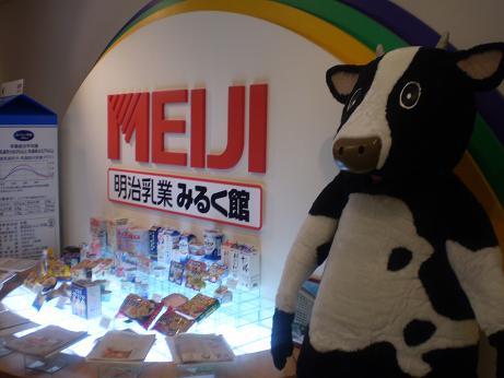 明治乳牛 ミルク館 見学会_a0139242_9533976.jpg