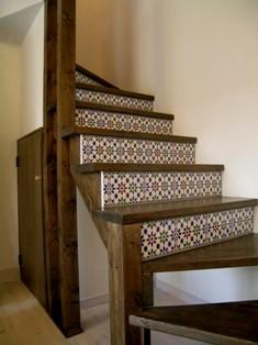 とてもシンプルな造作階段_c0130172_1534440.jpg