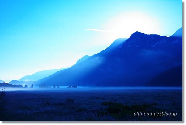 スイス シルス湖の朝_f0179404_23515236.jpg