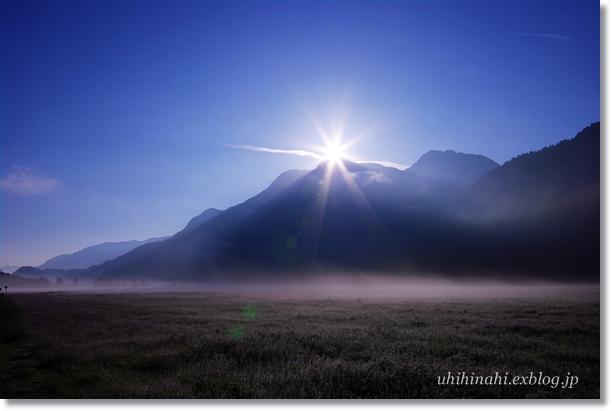 スイス シルス湖の朝_f0179404_23521239.jpg