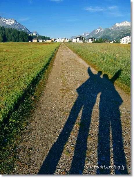 スイス シルス湖の朝_f0179404_23565943.jpg