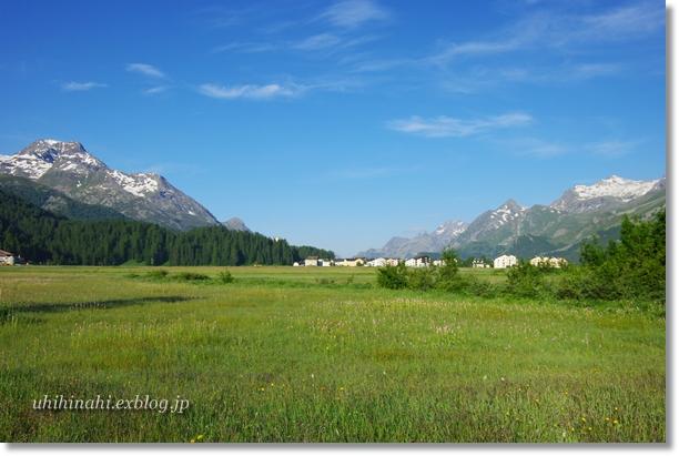 スイス シルス湖の朝_f0179404_2358164.jpg