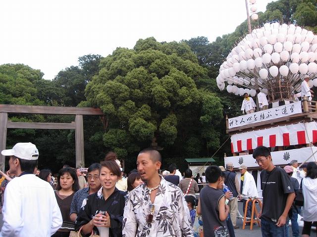熱田神宮祭り_f0141516_1474577.jpg