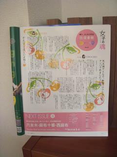★雑誌挿絵★Hanako No.952 2009/8.13号_b0166144_1351434.jpg