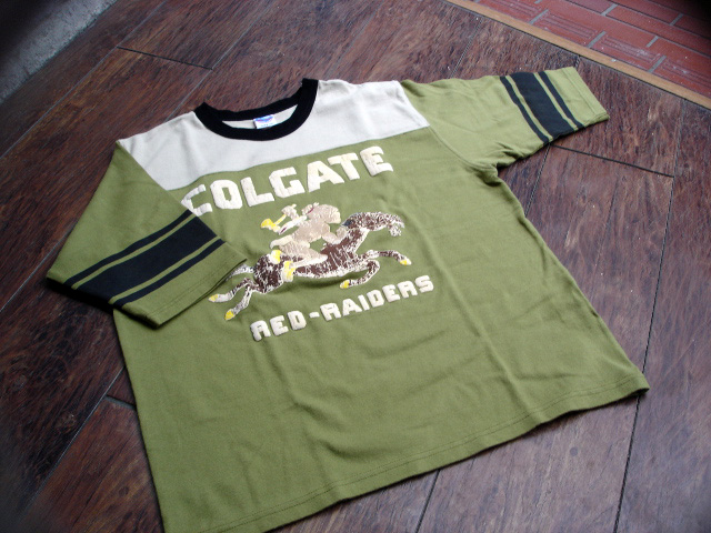 "NEW :  JELADO ""COLGATE\"" FOOTBALL Tee_a0132147_21241497.jpg"