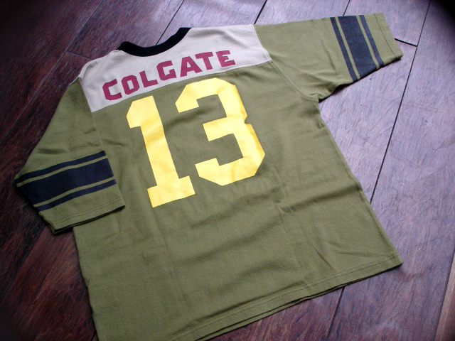 "NEW :  JELADO ""COLGATE\"" FOOTBALL Tee_a0132147_21244571.jpg"