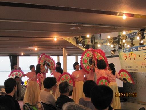 びわこ放送ライフライン20周年記念クルーズに参加して_b0100062_2034526.jpg