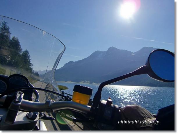 スイス シルス湖の朝_f0179404_013689.jpg