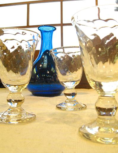 倉敷ガラスと小玉スイカ_f0197821_12181180.jpg