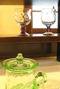 倉敷ガラスと小玉スイカ_f0197821_12365648.jpg