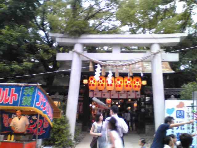 天神祭宵宮の夜に_a0004752_085021.jpg