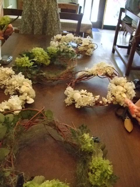 オークリーフ花の教室(カフェマレットさんにて。第8回)_f0049672_18433184.jpg