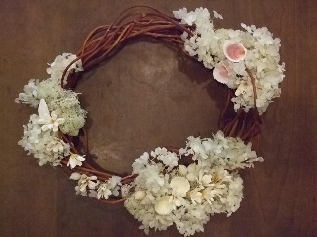オークリーフ花の教室(カフェマレットさんにて。第8回)_f0049672_1955075.jpg