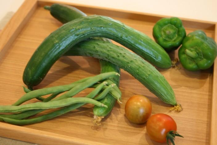 夏の収穫物_d0135479_182192.jpg