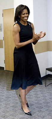ミシェル・オバマ夫人のボブ・スタイルをチェケラウ!_c0050387_11315437.jpg