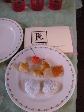「心を込めてテーブルセッティング…Tea Time To Tea Party」_c0128489_041160.jpg