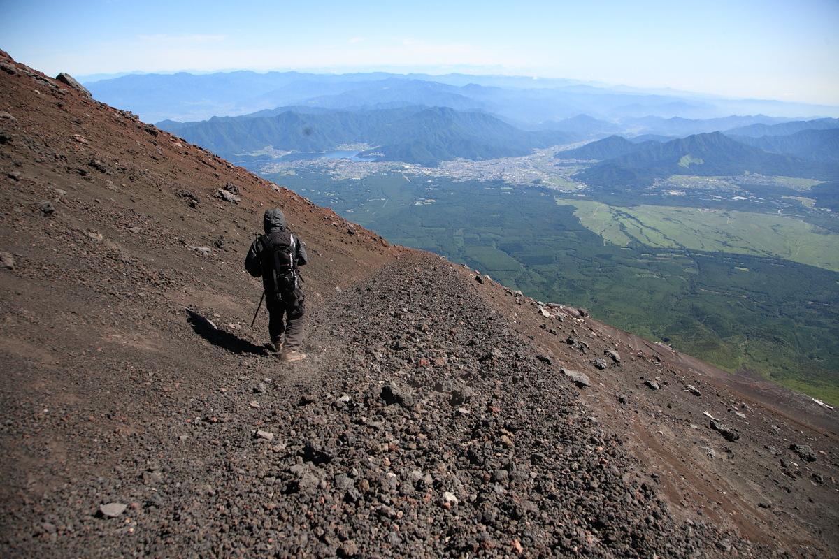 富士登山2009「下山」_f0157812_0503310.jpg