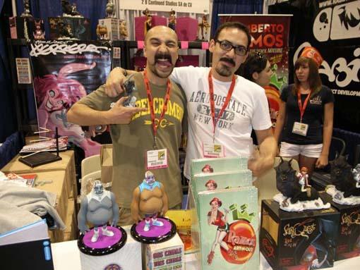 SDCC 2009 実況/メキシコ出身コミック・デュオに邂逅す。_a0077842_637846.jpg