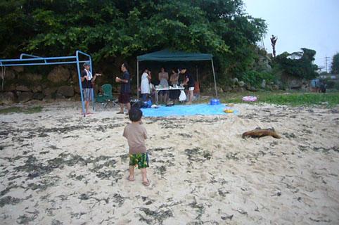 beach (yakitori) party._c0153966_2354069.jpg