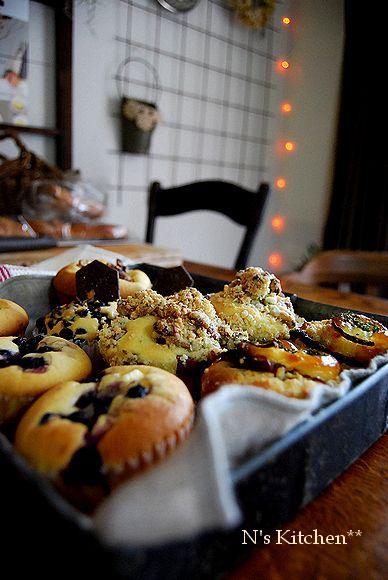 お食事クランブル muffin _a0105872_005449.jpg