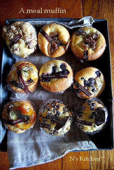お食事クランブル muffin _a0105872_01415.jpg