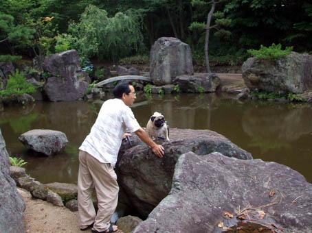 日本庭園でランチ_f0019498_17274991.jpg