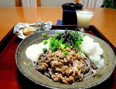 納豆そば_b0163004_8391089.jpg