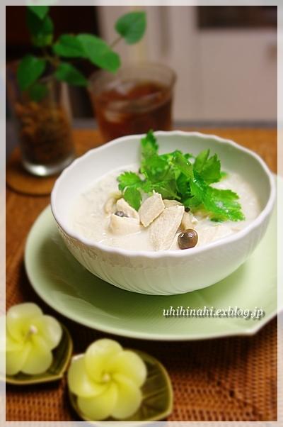 鶏肉ココナッツスープのフォー_f0179404_21542531.jpg