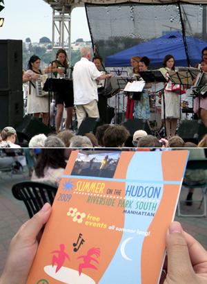 Riverside Parkのサマーイベント Summer on Hudson_b0007805_2327292.jpg