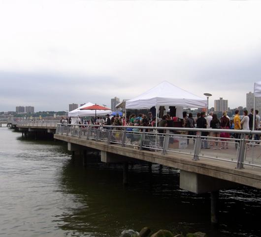 Riverside Parkのサマーイベント Summer on Hudson_b0007805_23281712.jpg