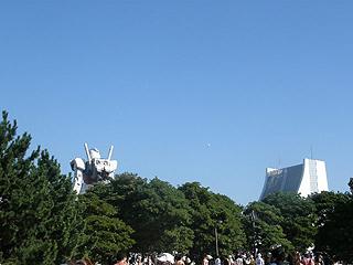 GREEN TOKYO ガンダムプロジェクト_c0025217_16325853.jpg