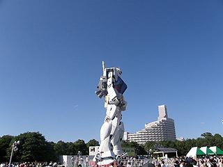 GREEN TOKYO ガンダムプロジェクト_c0025217_16331978.jpg