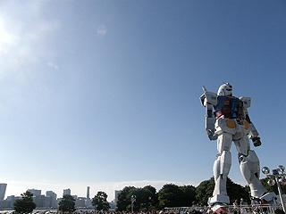 GREEN TOKYO ガンダムプロジェクト_c0025217_16332559.jpg