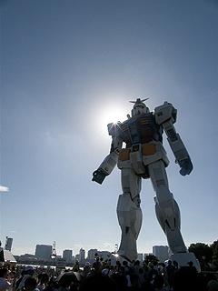 GREEN TOKYO ガンダムプロジェクト_c0025217_16341119.jpg