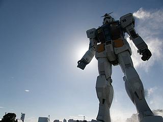 GREEN TOKYO ガンダムプロジェクト_c0025217_16355813.jpg