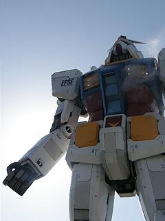 GREEN TOKYO ガンダムプロジェクト_c0025217_16361153.jpg