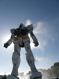 GREEN TOKYO ガンダムプロジェクト_c0025217_16361735.jpg