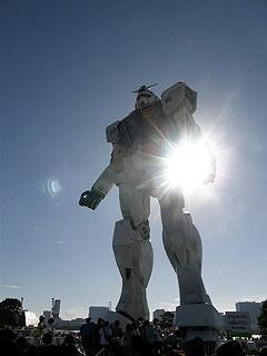 GREEN TOKYO ガンダムプロジェクト_c0025217_16363640.jpg