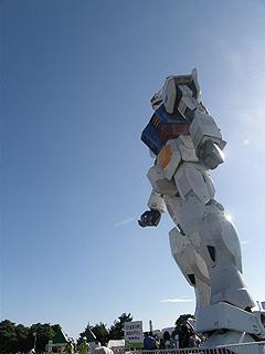 GREEN TOKYO ガンダムプロジェクト_c0025217_16364637.jpg
