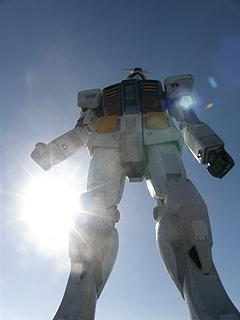 GREEN TOKYO ガンダムプロジェクト_c0025217_16365360.jpg