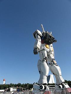 GREEN TOKYO ガンダムプロジェクト_c0025217_16381821.jpg
