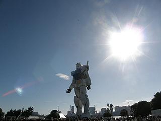 GREEN TOKYO ガンダムプロジェクト_c0025217_16382526.jpg