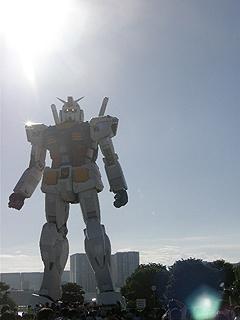 GREEN TOKYO ガンダムプロジェクト_c0025217_16383430.jpg