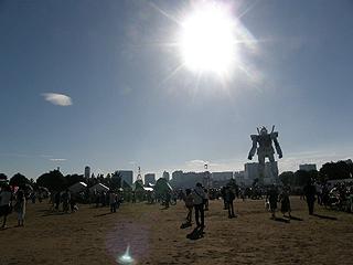 GREEN TOKYO ガンダムプロジェクト_c0025217_16384195.jpg
