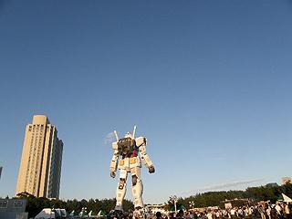 GREEN TOKYO ガンダムプロジェクト_c0025217_163857100.jpg