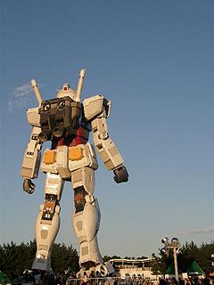 GREEN TOKYO ガンダムプロジェクト_c0025217_1639510.jpg